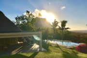 Le Morne Mauritius sunset