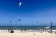 Downwind kite safari Brasil