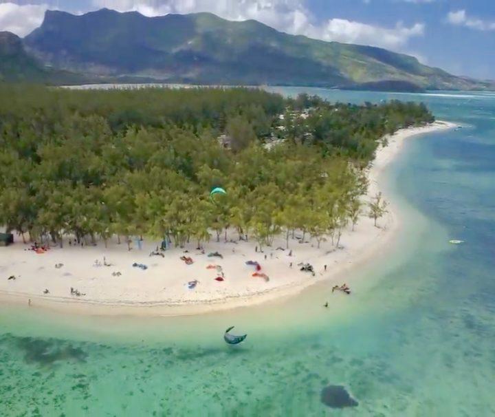 Le Morne Mauritius kite spot
