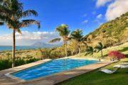 Le Morne Mauritius luxury villa amazing pool view